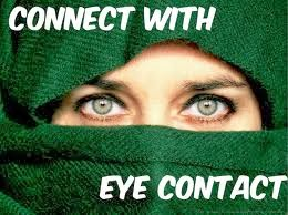 CONNECT WITH EYE CONTACT